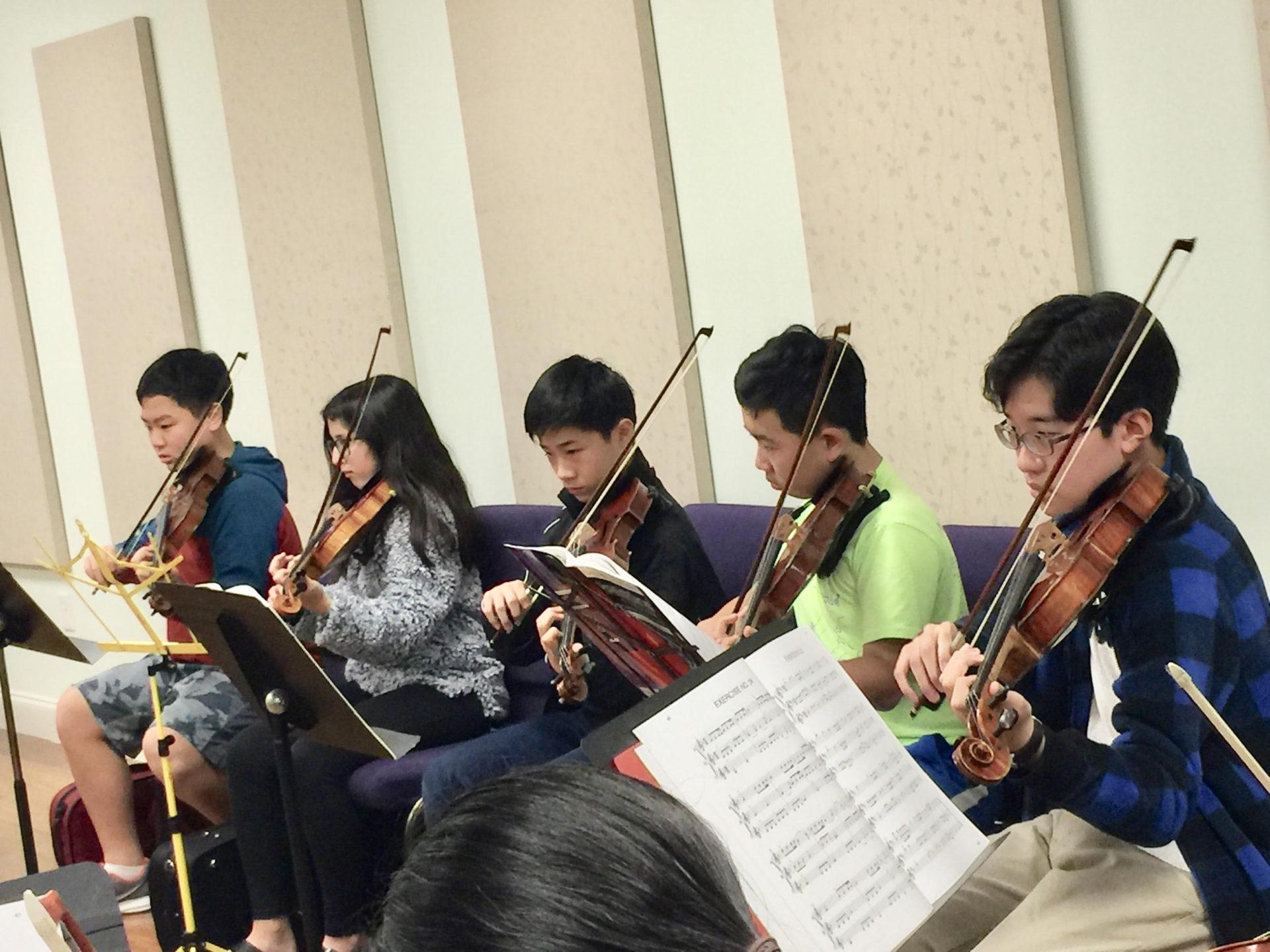 Sight-Reading Class – William Pu Music Academy